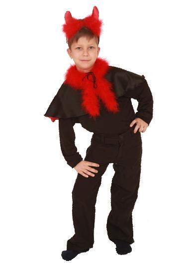 Чертика костюм своими руками мальчикам