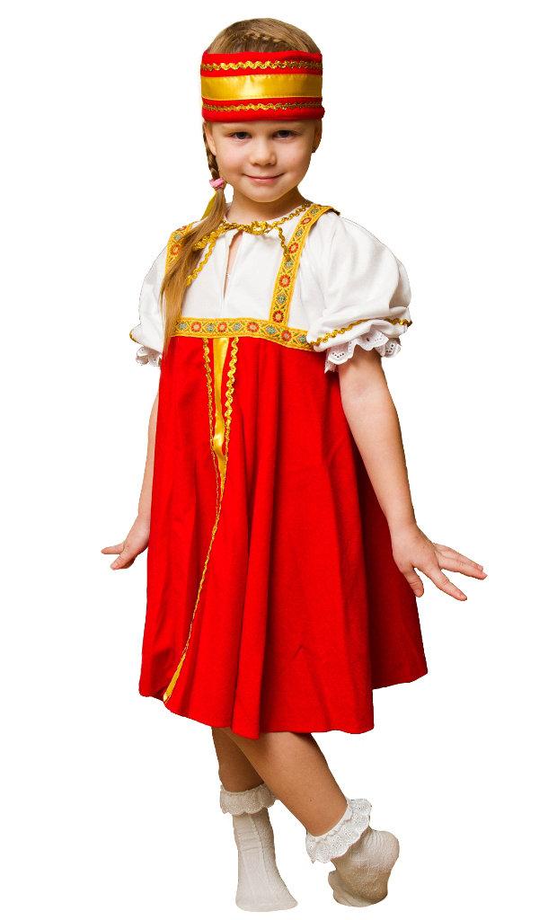 Русский народный костюм для девочек своими руками 91