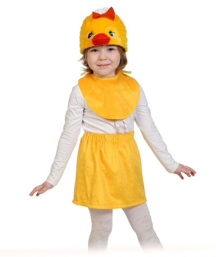 Костюм цыпленка на девочку своими руками 3
