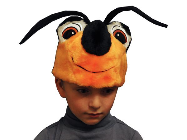 Шапочка жука для мальчика