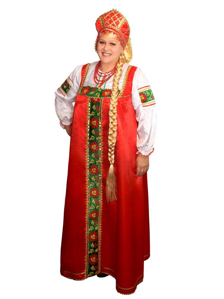 Картинки русский народный сарафан женский